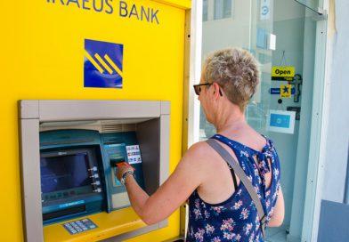 Geld pinnen in Griekenland