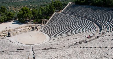 Het Griekse schiereiland de Peloponnesos