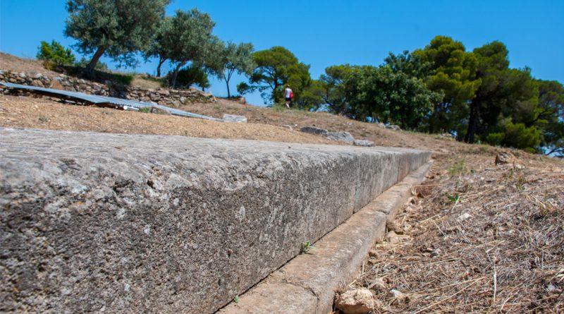 Poseidon tempel op Poros