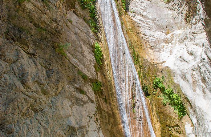 Het watervalletje van Nhidri