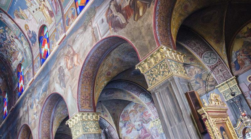 Agios Dionisios kerk in Zakynthos-stad