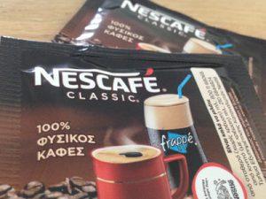 Griekse Nescafé Classic om een Griekse frappé te maken