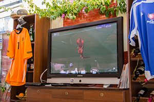 Voetbal kijken in Griekenland