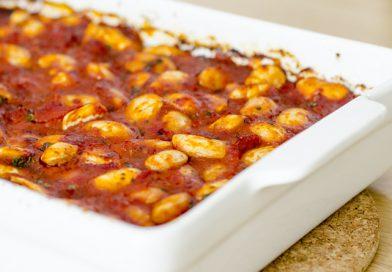 Griekse reuzenbonen uit de oven recept (gigantes plaki)