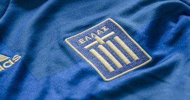 Shirt van het Griekse nationale elftal