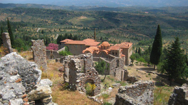 Mystras in Griekenland