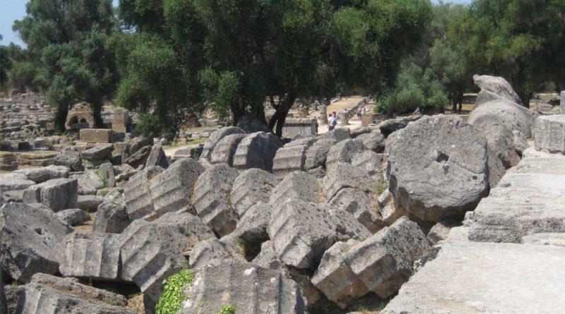 Tempel van Zeus in Olympia