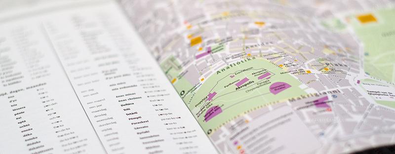 Capitool Compact reisgids met uitvouwkaart