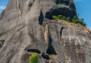 Meteora rotsformatie