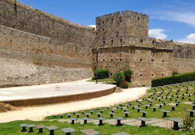 Mozaïek en masticha in de oude stad van Rhodos