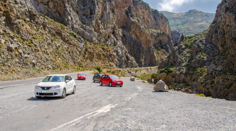 Uitkijkplateau Kourtaliotiko Gorge Kreta