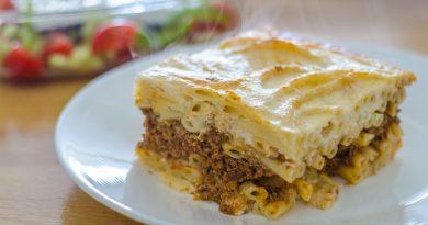 Recept voor Griekse pastitsio