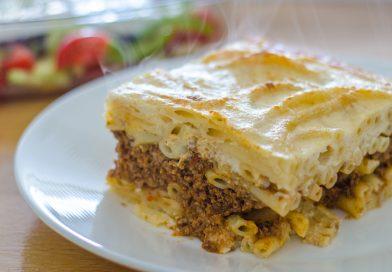 Pastitsio recept: heerlijke Griekse pastaschotel uit de oven