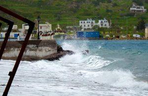 Storm Zorbas op Patmos