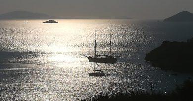 Het winterlicht op Patmos