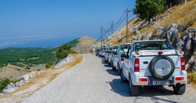 Jeepsafari met een gehuurde Suzuki Jimny op Corfu