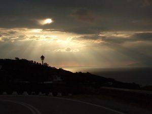 Winteravond op Patmos