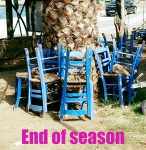 Einde seizoen