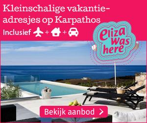 Met Eliza Was Here naar Karpathos