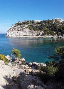 Prachtige baaien op Rhodos