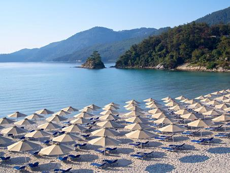 Makryammos Bungalows in Thassos