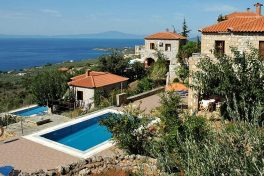 Kleinschalige accommodatie Orato Villas in Agios Nikolaos