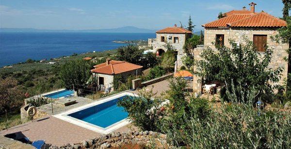 Kleinschalige accommodatie Orato Villas in Agios Nikolaos