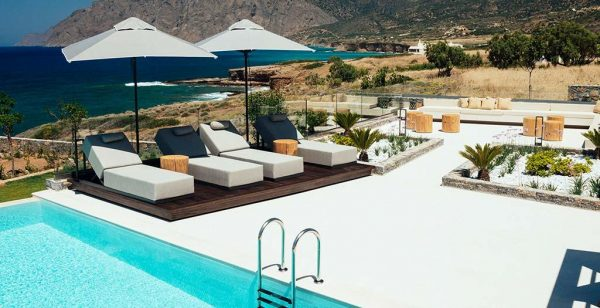 Kleinschalige accommodatie Yades Instyle Villas in Mochlos