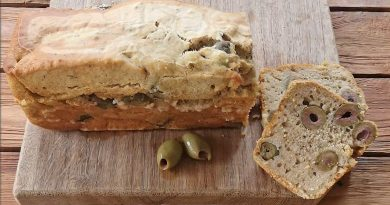 Grieks olijfbrood maken met bierbeslag