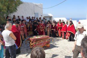Processie op Patmos