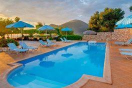 Kleinschalige accommodatie Cavos Sunset View Cottages in Cavos
