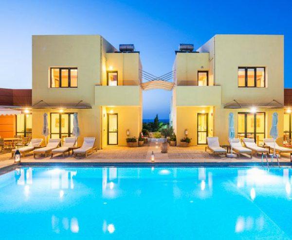 Kleinschalige accommodatie Daphnis Villas in Chania