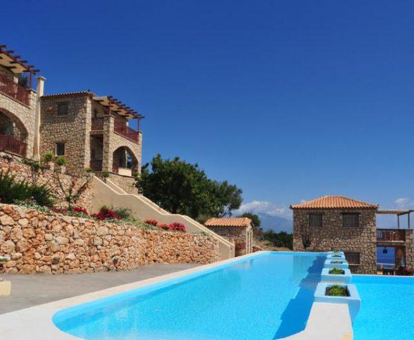 Kleinschalige accommodatie Strofilia Villas in Agios Nikolaos